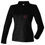 Francesca Charity - Women's long sleeve stretch polo - SK044